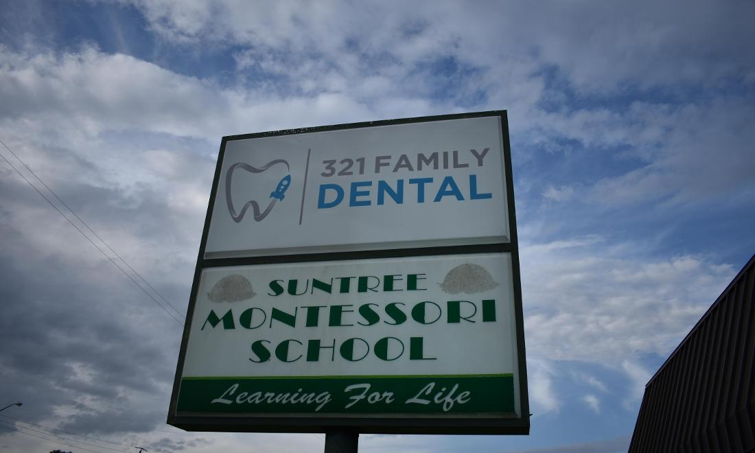 321 Family Dental Sign