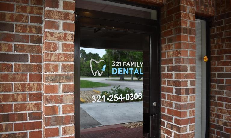 321 Family Dental Front Door
